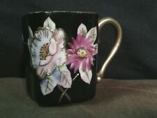 Vtg. Ardalt Lenwile China Hand Painted Demitasse Square Tea Cup,Occupied Japan