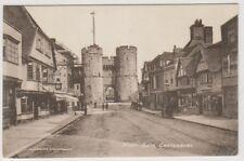 Kent postcard - West Gate, Canterbury