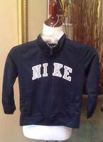 Nike Jacket Boy's 5 Navy Blue Long Sleeve Zip Up