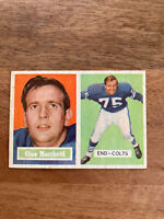 1957 Topps Gino Marchetti Hall Of Fame HOF Baltimore Colts Football Card #5