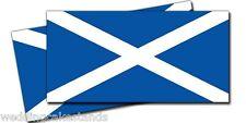 "2x Scottish FLAGS Scotland  5"" VINYL DECAL STICKERS - 2 Pack"