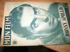 Revue Mon Film n°87  (1948) Johnny Apollo T.Power / D.Lamour Andre Le Gall
