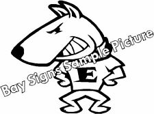 English Bull Terrier Gloss Vinyl Car Sticker Auto Decal Scooter Graphic