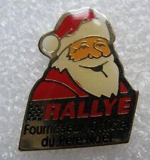 Pin's Rallye Fournisseur Officiel du Pére Noel #404
