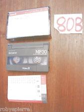 VIDEO8 VIDEO 8 VideoCassetta SONY MP30 MP 30 film VACANZE ALLE MALDIVE 1999