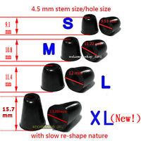 4 Pairs 4.5 mm Memory Foam Tips Earbuds Eartips For Most Earbuds in-ear earphone