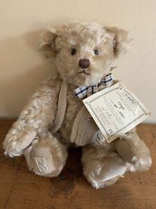 Dean's Rag Book Teddy Bear - 'Lloyd' Limited Edition 48/1000  Height Approx 32cm