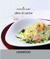 KENWOOD ACCESSORIO RICETTARIO LIBRO CUCINA ORIGINALE X COOKING CHEF 350 RICETTE
