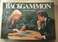 BACKGAMMON VINTAGE CLASSIC BOARD GAME