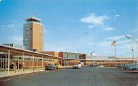Columbus Ohio c1958 Postcard Port Columbus & Terminal Building
