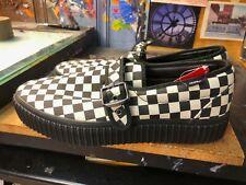 Vans Style 47 Creeper Black Classic White Checkerboard Size US 10.5 Men's New