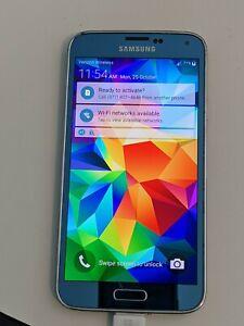 Verizon Samsung Galaxy S5 SM-G900V - 16GB - Unlocked Electric Blue