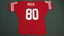 Jerry Rice TEAM ISSUED San Francisco 49ers Vintage Doherty Dunne XL Jersey -RARE