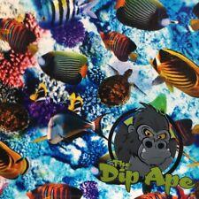 Aquarium Fish Ocean Sharks Hydrographic Water Transfer Hydro Film Dip Ape
