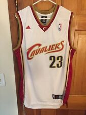 LeBron KING JAMES CLEVELAND CAVALIERS HOME JERSEY Size XL
