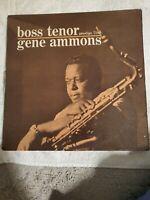 GENE AMMONS Boss Tenor Prestige 7180 Mono DG RVG VG++ Jazz LP