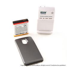 3800mAh Extended Battery for Black Samsung Galaxy Nexus i515 Verizon Charger