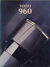Volvo 960 petrol and diesel 1993 Italian market sales brochure
