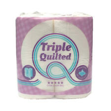 Luxury White 3-Ply Quilted Toilet Roll 10 (Packs of 4) TQ4Pk
