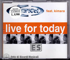 CDS/CDM  TI.PI.CAL. Feat KIMARA - LIVE FOR TODAY **NUOVO NON SIGILLATO**