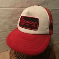 Vintage Reliance Trailers Snapback Mesh Hat/Cap Young An Trucker