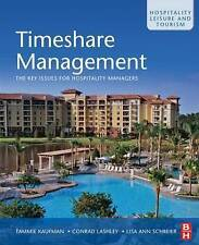 Timeshare Management: The key issues for hospitality managers-ExLibrary