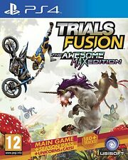 Trials Fusion The Awesome Max Edition (PS4) BRAND NEW SEALED