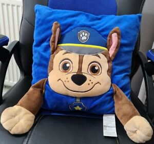 Paw Patrol Chase Cushion with Arms. Nickleodeon