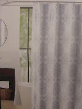 "Tahari Home Milan Scroll Fabric Shower Curtain 72"" x 72"" NIP"