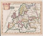 1682+Fine+Scarce+Cluver+Map+of+Europe