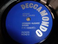 MONDO BILLIE DAVIES-Howard Hughes Shoes RARE DIY PUNK DECCAMONDO
