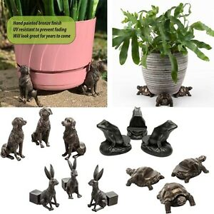 Potty Feet Animal Plant Pot Feet Holder Planter Support Garden Decor Ornament