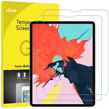"""JETech Screen Protector for iPad Pro 12.9"""" (3rd Gen, 2018) Tempered Glass 2-Pack"""