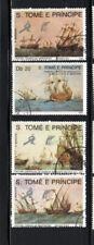 ST. THOMAS & PRINCE #891-895  1989  SHIPS      MINT VF NH O.G  CTO