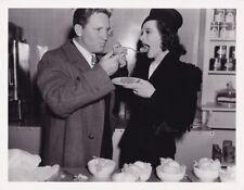 HEDY LAMARR SPENCER TRACY Original CANDID Studio Set Vintage 1940 MGM Photo