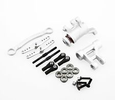 GDS Racing Alloy Steering Assembly Silver for Team LOSI DBXL 1/5 RC Buggy