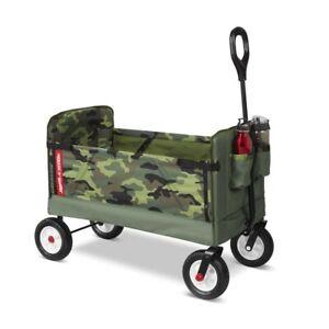 Radio Flyer 3-in-1 EZ Fold Wagon - Red
