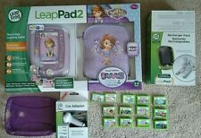 LeapFrog LeapPad2 Disney Sofia the First with extra Chargers/Games/Gel Cover