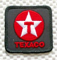TEXACO GAS OIL EMBROIDERED SEW ON PATCH UNIFORM ADVERTISING PETROLIANA 2 1/4""