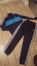 Trendy boys full ADIDAS blue/navy tracksuit excellent condition ...l@@k 13/14
