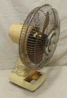 "Vintage Super Deluxe 3-Speed 16"" Oscillating Fan Model CM-304 Tested and Works"