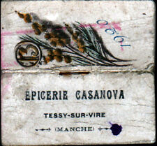 "TESSY-sur-VIRE (50) CALENDRIER-AGENDA de POCHE 1920 / EPICERIE ""CASANOVA"""