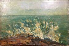 Gorgeous, LEVER Hayley (1876-1958), Australian / American painter, Navy, oil on