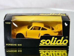 Solido n° 1032 Porsche 935 1/43 neuf boxed/en boite
