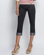 "P573 Designer 6/8-Hose in Jeans-Optik ""dunkelblau"" Gr. 36/38"