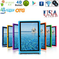 "7"" Tablet PC WiFi Google Android 4.4 KitKat Quad Core Dual Camera 8GB BT_"