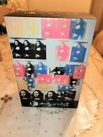 MEDICOM ANDY WARHOL COLORED MONA LISA BEARBRICK 2019 100%+400% PACK IN HAND