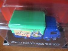 Renault fourgon 1400 kg, MERE PICON, Hachette 1/43 no TdF