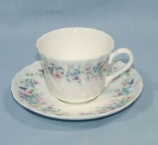 WEDGWOOD ANGELA FLUTED SMALL BONE CHINA COFFEE CUP & SAUCER
