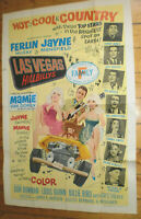 Plakat, HOT COOL COUNTRY,S. JAMES,ROY DRUSKY,DEL REEVES,COUNTRY MUSIK,LAS VEGAS